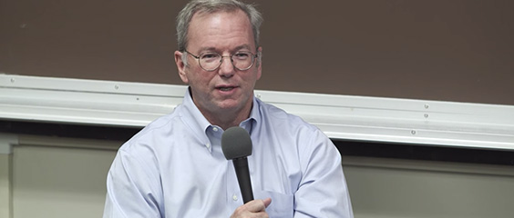 Eric Schmidt on Structuring Teams and Scaling Google: Blitzscaling Session 8